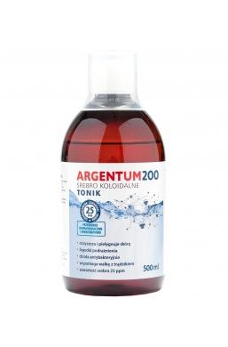 Argentum200 Srebro Koloidalne 25 ppm 500 ml Tonik