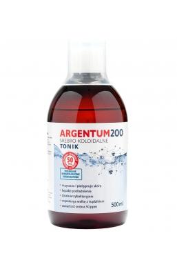 Argentum200 Srebro Koloidalne 50ppm 500 ml Tonik