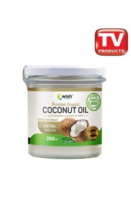 Olej Kokosowy Tłoczony na zimno Nierafinowany 100% BIO Extra Virgin 270ml