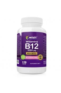 Witamina B12 5000mcg Metylokobalamina + Inulina 120 kapsułek