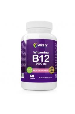 Witamina B12 5000mcg Metylokobalamina + Inulina 60 kapsułek