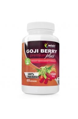 Owoce Jagody Goji Berry Premium Plus 1500mg 60 tabletek