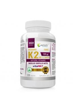 Witamina K2 vitaMK-7 100mcg 120 tabletek