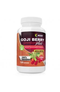 Owoce Jagody Goji Berry Premium Plus 1500mg 120tab