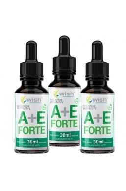 Witamina A+E Forte w Kroplach 3x 30ml Produkt Vege