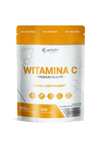 Witamina C Kwas L-askorbinowy 1000mg w Proszku 0,5kg Produkt Vege