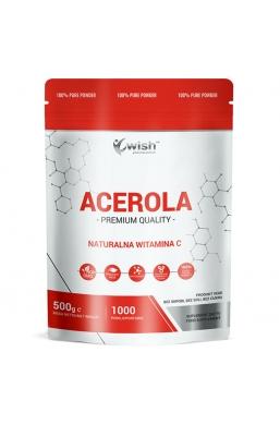 Acerola 500mg Naturalna Witamina C 120 w Proszku 0,5kg Produkt Vege