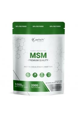 MSM Siarka Organiczna w Proszku 1kg Produkt Vege