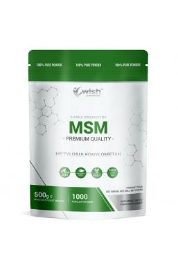 Siarka Organiczna MSM w Proszku 500g Produkt Vege
