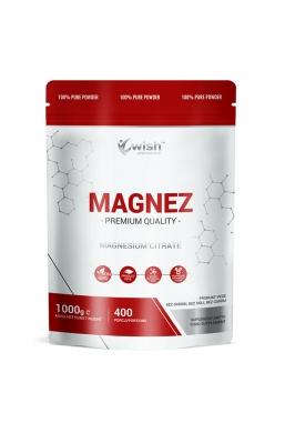 Magnez w Proszku Cytrynian Magnezu 1kg Produkt Vege