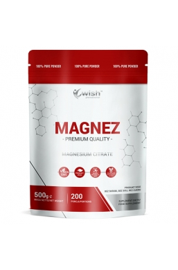 Magnez Cytrynian Magnezu w Proszku 500g Produkt Vege