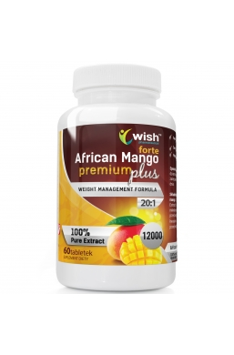 African Mango Premium Plus Forte 20:1 12000 60 tabletek