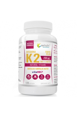 Witamina K2 vitaMK7 200mcg 120 kapsułek dla Wegan