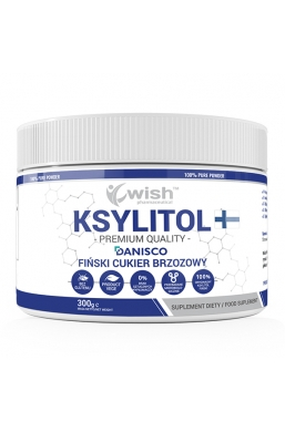 Ksylitol 100% Fiński Cukier Brzozowy Danisco 300g Produkt Vege