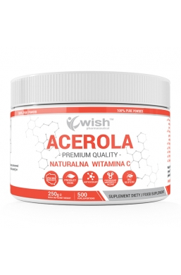 Acerola Naturalna Witamina C w Proszku 250g Produkt Vege