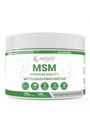 MSM Siarka Organiczna w Proszku 250g Produkt Vege