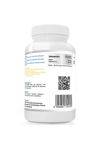 Witamina C kwas l-askorbinowy 1000mg 120 kapsułek