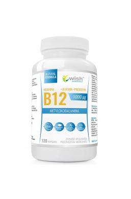 Witamina B12 1000mcg Metylokobalamina + Probiotyk 120 kapsułek