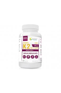 Witamina K2 MK-7 100mcg 120 tabletek