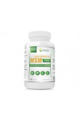 MSM 500mg Siarka organiczna 250 tabletek