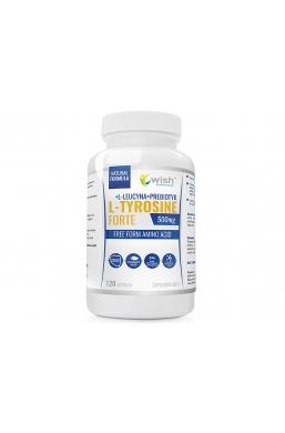 L-Tyrosine Forte 500mg 120 kapsułek Produkt Vege