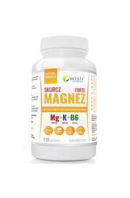 Magnezu + Potasu + B6 Forte Produkt Vege120 Kapsułek