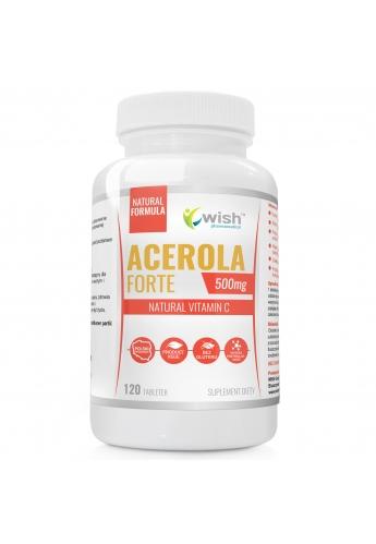Acerola Forte 500mg naturalna witamina C 120 tabletek