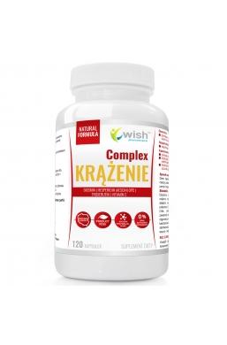 Krążenie Complex Kasztanowiec, Diosmina, Hesperydyna, Trokserutyna, OPC, Witamina C 120 kapsułek Produkt Vege