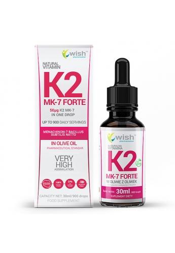 Naturalna Witamina K2 Forte Krople 30ml
