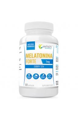 Melatonina 1mg DOBRY SEN 60 kapsułek Produkt Vege