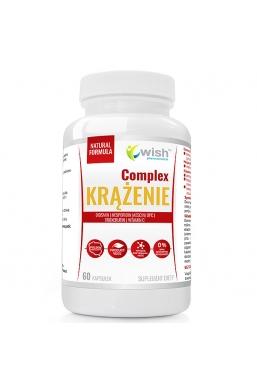 Krążenie Complex Kasztanowiec, Diosmina, Hesperydyna, Trokserutyna, OPC, Witamina C 60 kapsułek Produkt Vege