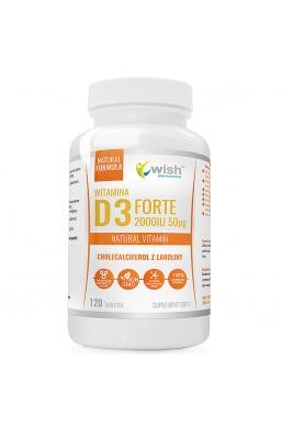 WITAMINA D3 FORTE 2000IU 50µg 120 tabletek