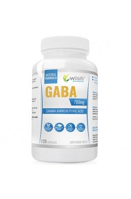 GABA Kwas Gamma-Aminomasłowy PRODUKT VEGE 120 kapsułek